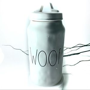 Rae Dunn Woof Dog Biscuit Cannister